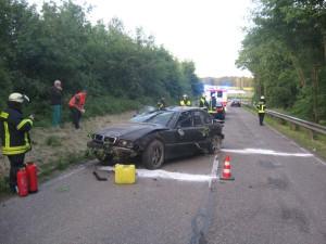 27. Mai 2015 - Verkehrsunfall, L382 Otterberg - Baalborn