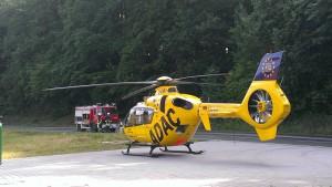 27. Juni 2015 - Hubschrauberlandesicherung, Mehlbach Hauptstraße