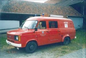 Ford Transit als TSF. Foto: Archiv der Feuerwehr Frankelbach