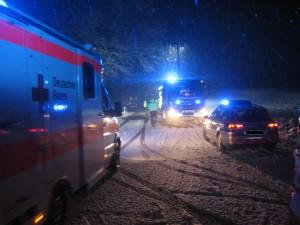 25. November 2015 - Verkehrsunfall, L382 Otterberg - Baalborn