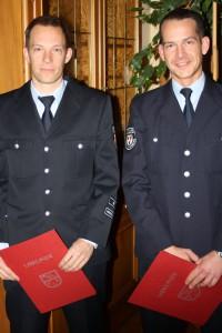 Vorgänger und Nachfolger: Hendrik Braun und Jörg Tremmel.
