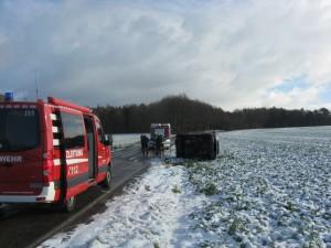 17. Januar 2016 - Verkehrsunfall, L382 Otterberg - Baalborn