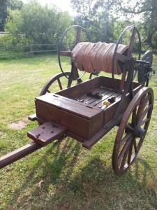 Historischer Schlauchwagen