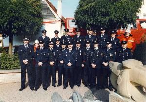 Mannschaft Olsbrücken im Jahr 1990