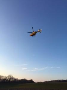 18. März 2016 - Hubschrauberlandesicherung, Niederkirchen
