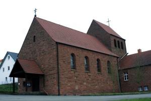 Die protestantische Pfarrkirche in Katzweiler, ein klassizistischer Saalbau, wurde von 1822 bis 1826 erbaut.