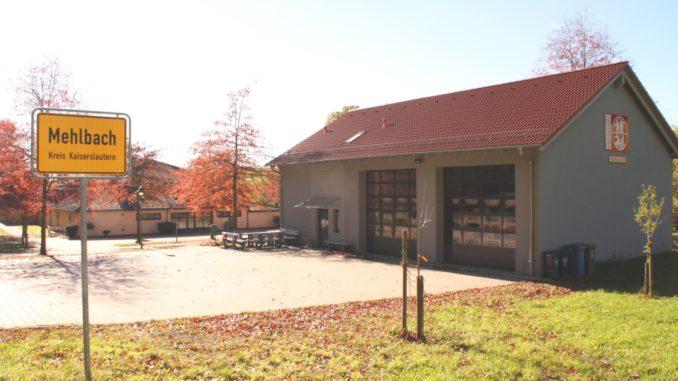 Feuerwehrhaus Mehlbach, Außenansicht