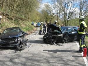 8. April 2016 - Verkehrsunfall, K32 Heimkirchen - Kreuzhof