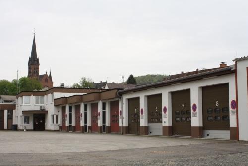 Feuerwehrhaus Otterbach, Außenansicht