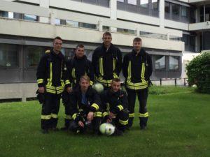 Teams aus Olsbrücken: Christoph Schehr, Jonas Faul, Florian Schneck und Silas Krauß (alle stehend). Gregor Springwald und Michael Rahm (beide kniend).