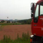 11. Juni 2016 - Hubschrauberlandesicherung, Niederkirchen