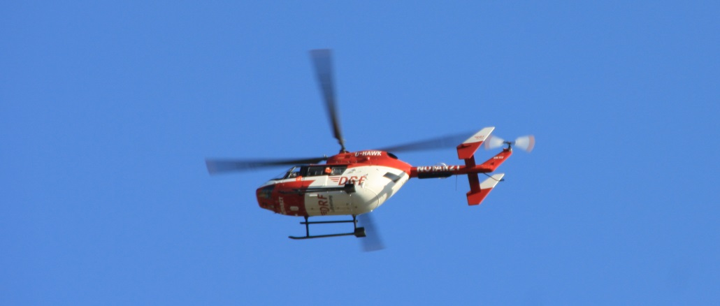 14. Juli 2018 - Hubschrauberlandesicherung, Niederkirchen Bachstraße