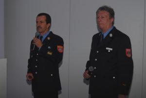 Richard Schrank und Wolfram Höfler, 6. Bundesfachkongress des DFV, Foto: Matthias Oestreicher/DFV