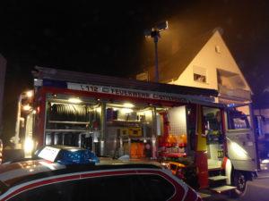 Hilfeleistungslöschfahrzeug (HLF) der Feuerwehr Otterbach.