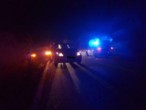 12. Oktober 2016 - Verkehrsunfall, B270 Otterbach - Kaiserslautern-Erfenbach