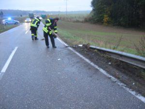25. Oktober 2016 - Verkehrsunfall, L382 Otterberg - Baalborn