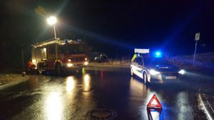 30. Januar 2017 - Verkehrsunfall, Otterbach Ziegelhütterstraße