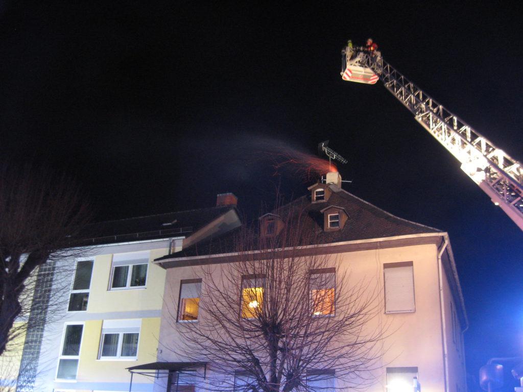 28. März 2017 - Kaminbrand, Otterberg Mühlstraße