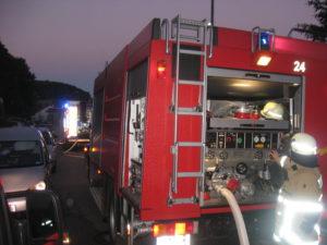 11. Juni 2017 - Brand auf Balkon, Otterberg Althütter Straße