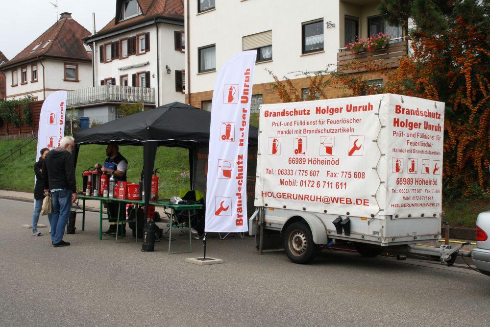 Tag der offenen Tür 2017; Brandschutz Holger Unruh