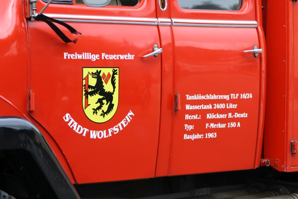 Tag der offenen Tür 2017; TLF 16/24 Feuerwehr Wolfstein