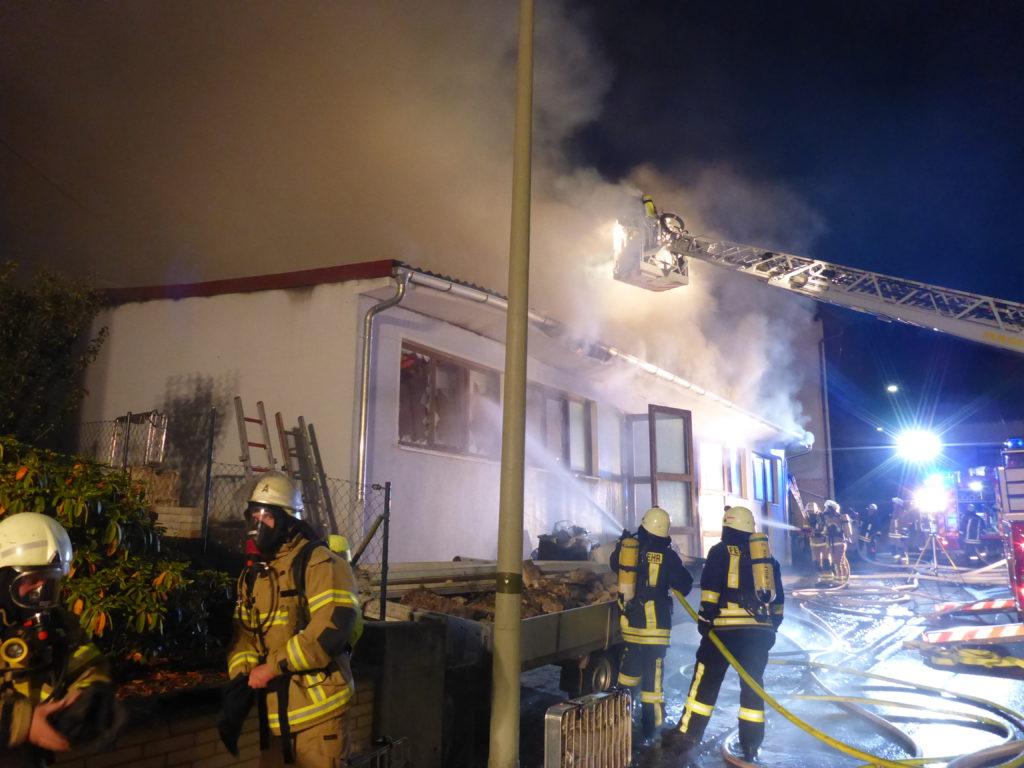 29. September 2017 - Gebäudebrand, Olsbrücken Dietenbachstraße
