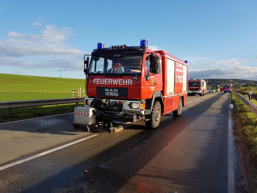Umweltlöschfahrzeug (ULF) der Feuerwehr Winnweiler (Donnersbergkreis).