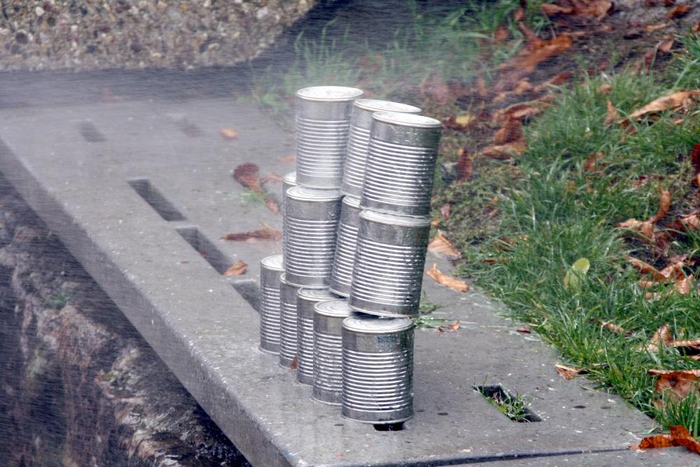 Jugendfeuerwehrfest in Niederkirchen: Dosenschießen mit Wasserlöscher