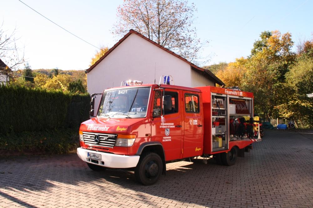 TSF-W vor dem Gerätehaus Sulzbachtal