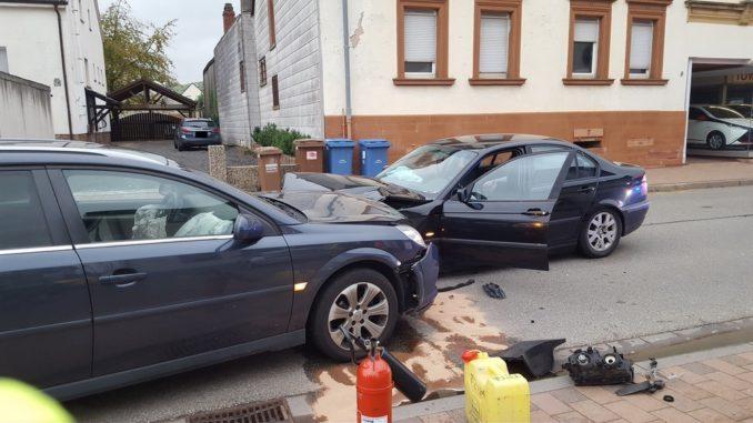 10. Oktober 2017 - Verkehrsunfall, Katzweiler Hauptstraße