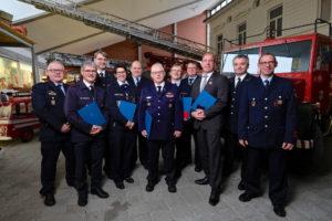 Geehrte und Vertreter aus Rheinland-Pfalz, Foto: Rico Thumser / DFV