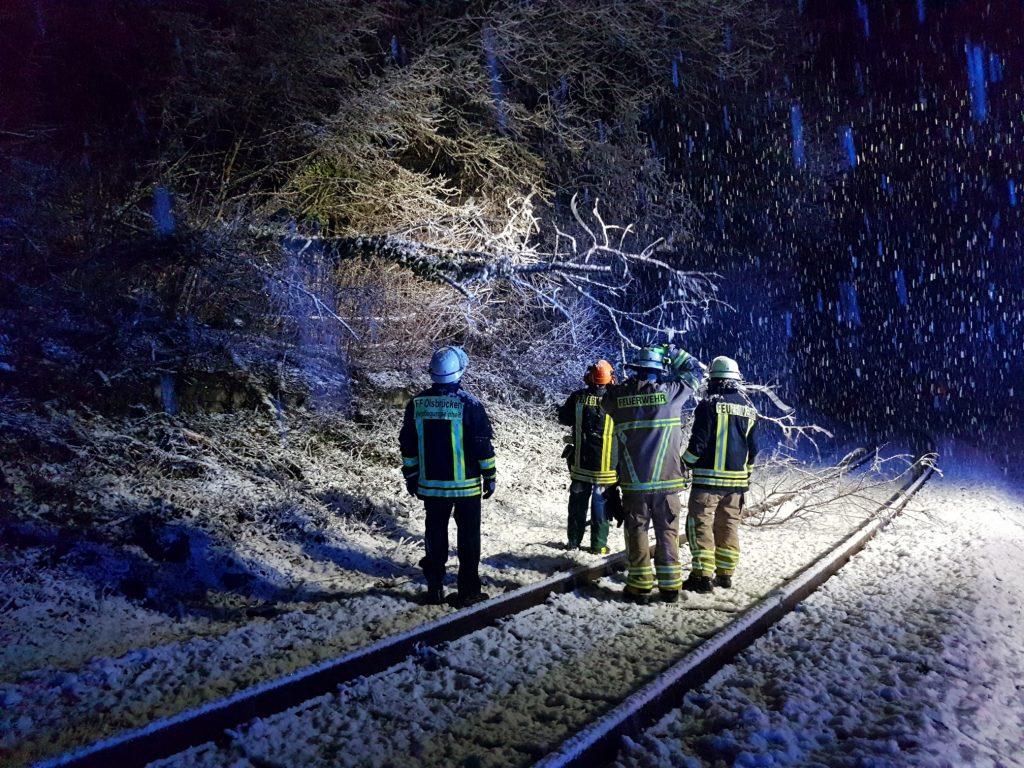Bilder von der Einsatzstelle in Olsbrücken