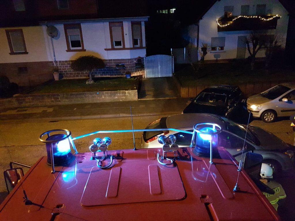 5. Januar 2018 - Verkehrsunfall, Otterbach Konrad-Adenauer-Straße