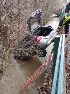 1. Februar 2018 - Verkehrsunfall, Niederkirchen Talstraße