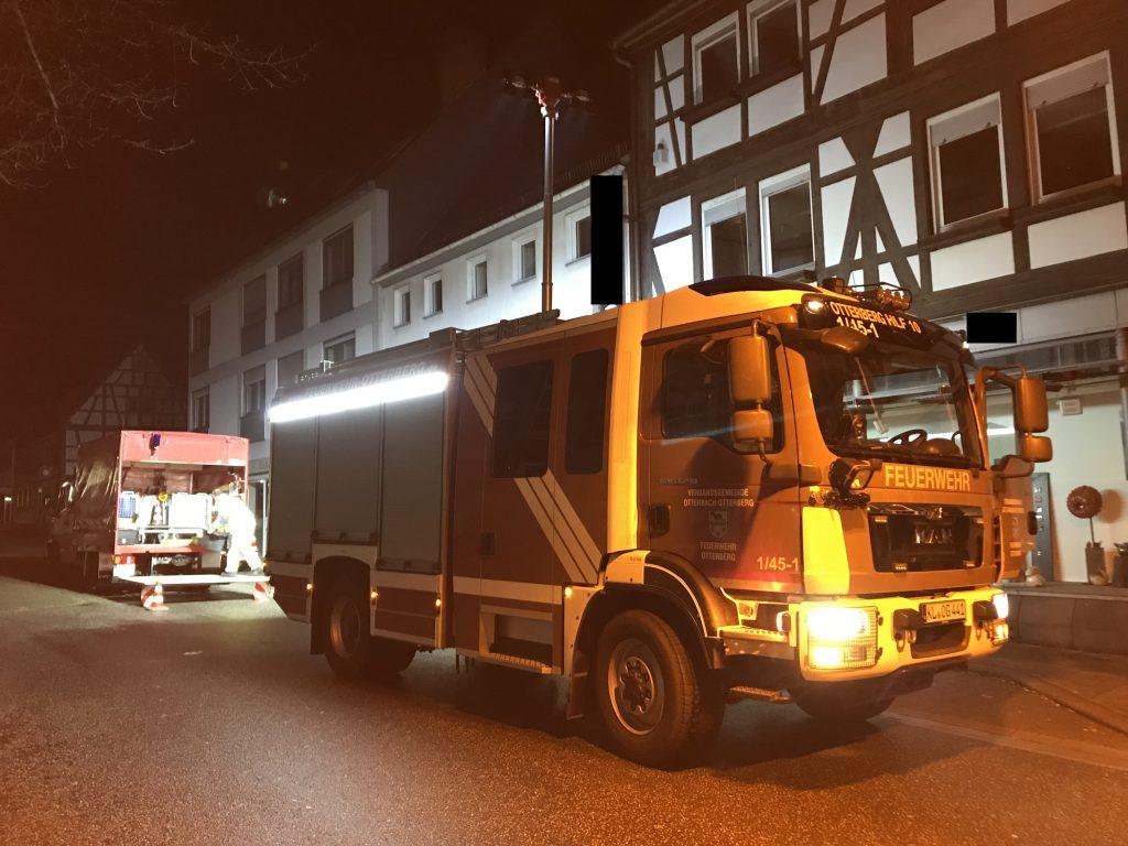 Eigentumssicherung in der Otterberger Hauptstraße.
