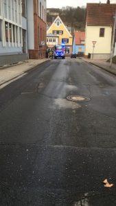 7. März 2018 - Ölspur, Otterberg Ringstraße