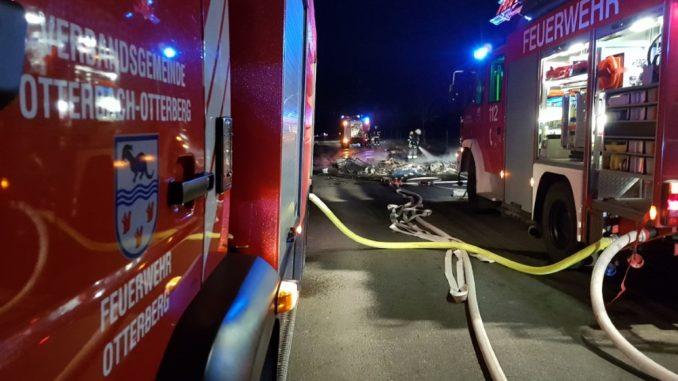 2. März 2018 - Lkw-Brand, L382 Enkenbach-Alsenborn - Mehlingen