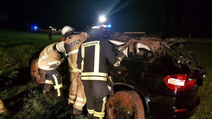 7. April 2018 - Verkehrsunfall, L388 Katzweiler - Mehlbach