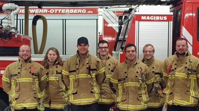 Jugendwarte und Betreuer der Jugendfeuerwehr Otterberg.
