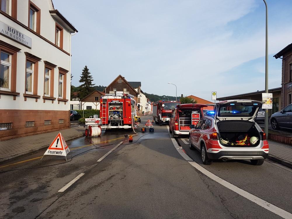 27. Mai 2018 - Beseitigung Unwetterfolgen, Verbandsgemeindegebiet