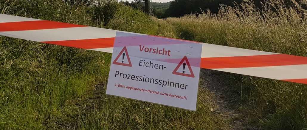 26. Mai 2018 - Absicherung einer Gefahrenstelle, Otterbach