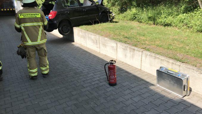 22. Mai 2018 - Verkehrsunfall, Otterberg Hauptstraße