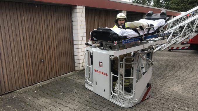 14. Juni 2018 - Amtshilfe Rettungsdienst, Otterberg Am Burgerwald