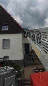 24. Juni 2018 - Beseitigung einer Gefahrenstelle, Mehlbach Gartenstraße