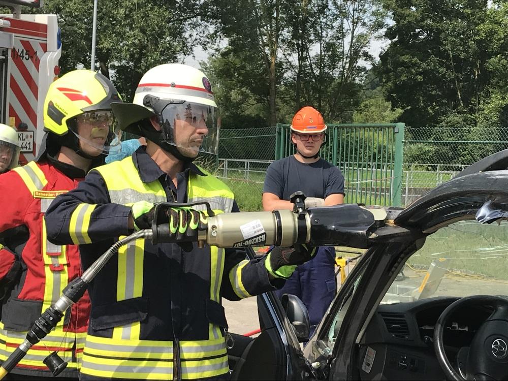 16. Juni 2018: Sonderausbildung Technische Hilfe