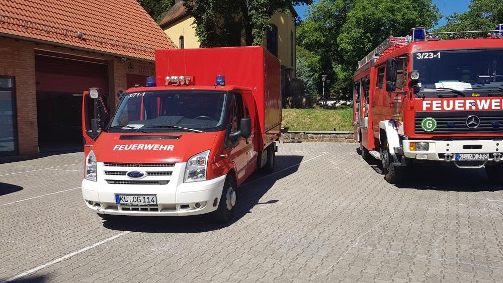 """""""Ein Tag bei der Feuerwehr"""" am 1. Juli 2018 in Niederkirchen"""